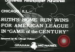 Image of Inaugural baseball All Star Game Chicago Illinois USA, 1933, second 2 stock footage video 65675022449