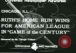 Image of Inaugural baseball All Star Game Chicago Illinois USA, 1933, second 8 stock footage video 65675022449