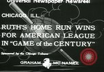 Image of Inaugural baseball All Star Game Chicago Illinois USA, 1933, second 9 stock footage video 65675022449