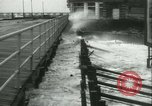 Image of storm lashes Atlantic seaboard Norfolk Virginia USA, 1933, second 54 stock footage video 65675022451