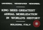 Image of Prince Humbert and Italo Balbo Bologna Italy, 1931, second 2 stock footage video 65675022460