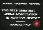 Image of Prince Humbert and Italo Balbo Bologna Italy, 1931, second 4 stock footage video 65675022460