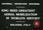 Image of Prince Humbert and Italo Balbo Bologna Italy, 1931, second 6 stock footage video 65675022460