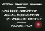 Image of Prince Humbert and Italo Balbo Bologna Italy, 1931, second 8 stock footage video 65675022460