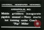 Image of US Naval Academy football Annapolis Maryland USA, 1931, second 1 stock footage video 65675022465