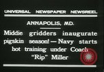 Image of US Naval Academy football Annapolis Maryland USA, 1931, second 6 stock footage video 65675022465