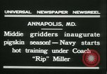 Image of US Naval Academy football Annapolis Maryland USA, 1931, second 8 stock footage video 65675022465