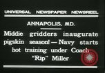 Image of US Naval Academy football Annapolis Maryland USA, 1931, second 9 stock footage video 65675022465