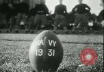 Image of US Naval Academy football Annapolis Maryland USA, 1931, second 13 stock footage video 65675022465