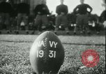 Image of US Naval Academy football Annapolis Maryland USA, 1931, second 14 stock footage video 65675022465