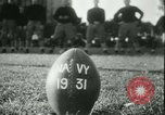 Image of US Naval Academy football Annapolis Maryland USA, 1931, second 15 stock footage video 65675022465
