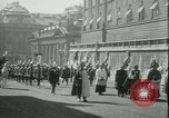 Image of Admiral Horthy and Count Karyoli Budapest Hungary, 1931, second 29 stock footage video 65675022466