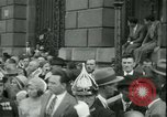 Image of Admiral Horthy and Count Karyoli Budapest Hungary, 1931, second 59 stock footage video 65675022466