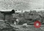 Image of Los Angeles Aqueduct Pipeline Jawbone Canyon, 1931, second 16 stock footage video 65675022470