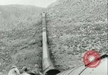 Image of Los Angeles Aqueduct Pipeline Jawbone Canyon, 1931, second 20 stock footage video 65675022470