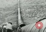 Image of Los Angeles Aqueduct Pipeline Jawbone Canyon, 1931, second 21 stock footage video 65675022470