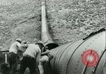 Image of Los Angeles Aqueduct Pipeline Jawbone Canyon, 1931, second 22 stock footage video 65675022470
