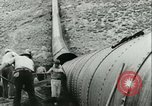 Image of Los Angeles Aqueduct Pipeline Jawbone Canyon, 1931, second 23 stock footage video 65675022470