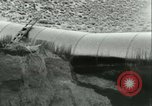 Image of Los Angeles Aqueduct Pipeline Jawbone Canyon, 1931, second 44 stock footage video 65675022470