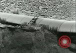 Image of Los Angeles Aqueduct Pipeline Jawbone Canyon, 1931, second 45 stock footage video 65675022470