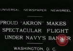 Image of Navy dirigible Akron Washington DC USA, 1931, second 1 stock footage video 65675022476