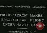 Image of Navy dirigible Akron Washington DC USA, 1931, second 2 stock footage video 65675022476