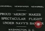 Image of Navy dirigible Akron Washington DC USA, 1931, second 6 stock footage video 65675022476