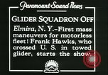 Image of Motor-less glider aircraft Elmira New York USA, 1931, second 8 stock footage video 65675022477