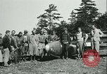 Image of Motor-less glider aircraft Elmira New York USA, 1931, second 29 stock footage video 65675022477