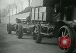 Image of Artillery and howitzers being towed Nantes France, 1918, second 56 stock footage video 65675022480