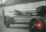 Image of Artillery and howitzers being towed Nantes France, 1918, second 61 stock footage video 65675022480
