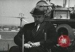 Image of Igor Sikorsky sets new record in Vought-Sikorsky VS-300 helicopter Stratford Connecticut USA, 1941, second 5 stock footage video 65675022494