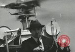 Image of Igor Sikorsky sets new record in Vought-Sikorsky VS-300 helicopter Stratford Connecticut USA, 1941, second 20 stock footage video 65675022494