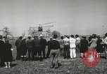 Image of Igor Sikorsky sets new record in Vought-Sikorsky VS-300 helicopter Stratford Connecticut USA, 1941, second 43 stock footage video 65675022494