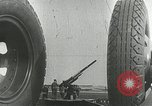 Image of U.S. soldiers fire antiaircraft gune during Air raid drill United States USA, 1941, second 1 stock footage video 65675022505