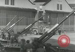 Image of U.S. soldiers fire antiaircraft gune during Air raid drill United States USA, 1941, second 52 stock footage video 65675022505