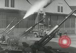 Image of U.S. soldiers fire antiaircraft gune during Air raid drill United States USA, 1941, second 53 stock footage video 65675022505
