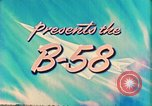 Image of Convair B-58 aircraft United States USA, 1956, second 10 stock footage video 65675022536