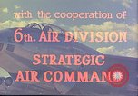 Image of Boeing B-47 Stratojet bomber MacDill Air Force Base Florida USA, 1954, second 22 stock footage video 65675022541