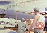 Image of Boeing B-47 Stratojet bomber Eglin Air Force Base Okaloosa County Florida USA, 1954, second 1 stock footage video 65675022543
