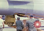 Image of Boeing B-47 Stratojet bomber Eglin Air Force Base Okaloosa County Florida USA, 1954, second 6 stock footage video 65675022543
