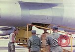 Image of Boeing B-47 Stratojet bomber Eglin Air Force Base Okaloosa County Florida USA, 1954, second 8 stock footage video 65675022543