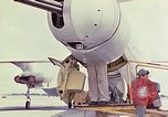 Image of Boeing B-47 Stratojet bomber Eglin Air Force Base Okaloosa County Florida USA, 1954, second 21 stock footage video 65675022543