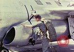 Image of Boeing B-47 Stratojet bomber Eglin Air Force Base Okaloosa County Florida USA, 1954, second 59 stock footage video 65675022544