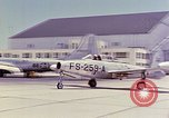 Image of Boeing B-47 Stratojet bomber Eglin Air Force Base Okaloosa County Florida USA, 1954, second 22 stock footage video 65675022545