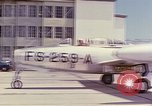 Image of Boeing B-47 Stratojet bomber Eglin Air Force Base Okaloosa County Florida USA, 1954, second 26 stock footage video 65675022545