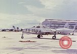 Image of Boeing B-47 Stratojet bomber Eglin Air Force Base Okaloosa County Florida USA, 1954, second 29 stock footage video 65675022545
