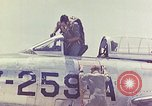 Image of Boeing B-47 Stratojet bomber Eglin Air Force Base Okaloosa County Florida USA, 1954, second 38 stock footage video 65675022545