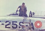Image of Boeing B-47 Stratojet bomber Eglin Air Force Base Okaloosa County Florida USA, 1954, second 41 stock footage video 65675022545