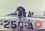 Image of Boeing B-47 Stratojet bomber Eglin Air Force Base Okaloosa County Florida USA, 1954, second 44 stock footage video 65675022545